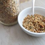 Homemade Granola with Pumpkin and Sunflower Seeds