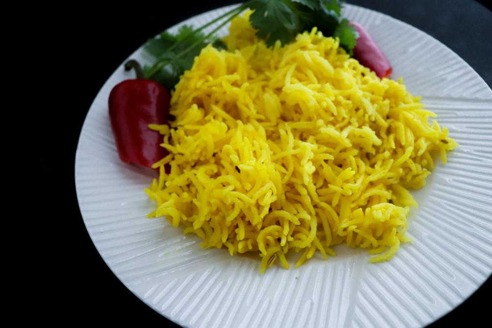 Yellow Turmeric Rice