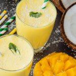 Coconut Mango Lassi